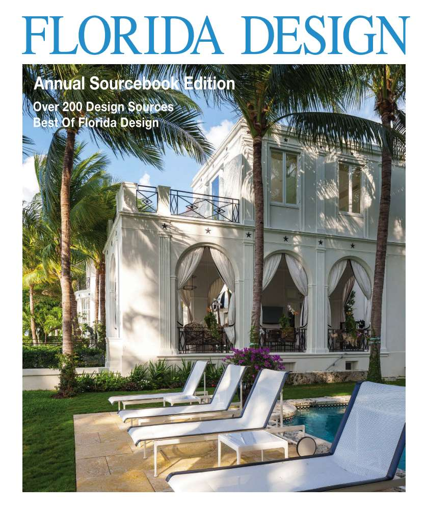 Trendy Florida Design Magazine Interior Design Furniture Lighting.
